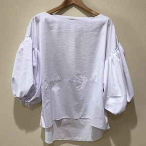 Essue Puffy Sleeve Blouse